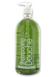 Ιδιαίτερα τονωτικό ζελ καθαρισμού για το σώμα και τα μαλλιά με χλωροφύλλη, λεμόνι και μέντα