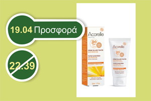 Acorelle TINTED SUNSCREEN Healthy Glow DORE GOLD SPF 30 -50 ml