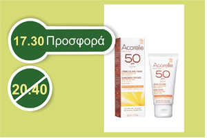 Acorelle FACE SUNSCREEN Sensitive Skins 50 SPF 50 ml