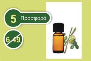 Όλυμπος αιθέριο έλαιο σιτρονέλλα 30 ml