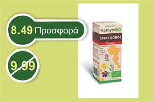 Proroyal σπρέι πρόπολης για τον λαιμό 15 ml